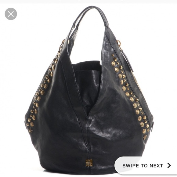 249d29452314 GIVENCHY tinhan lambskin leather hobo